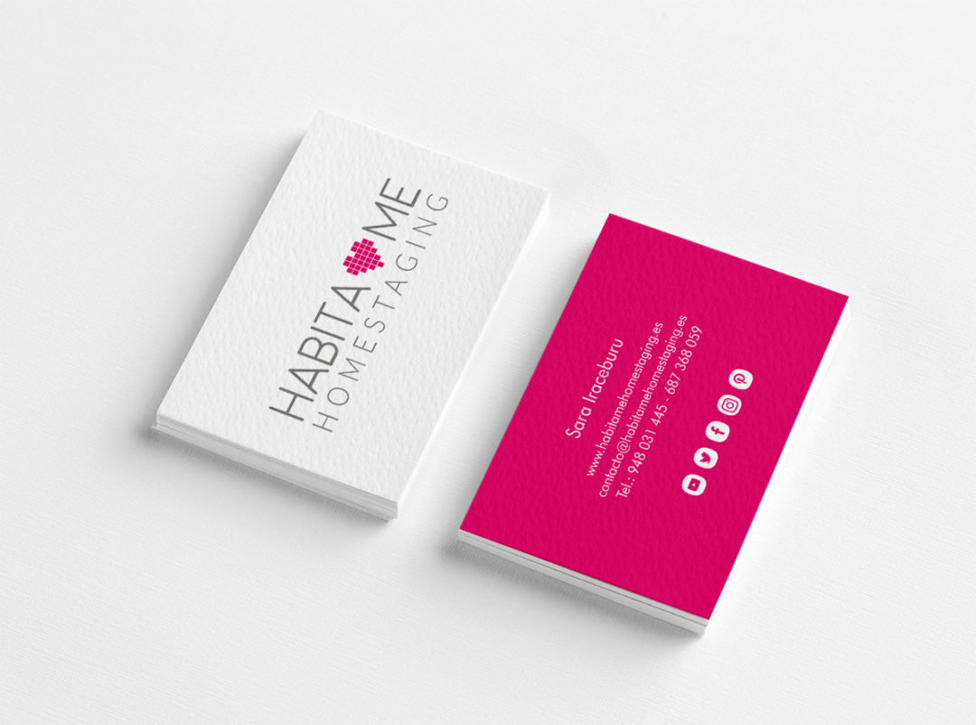 Habitame business cards
