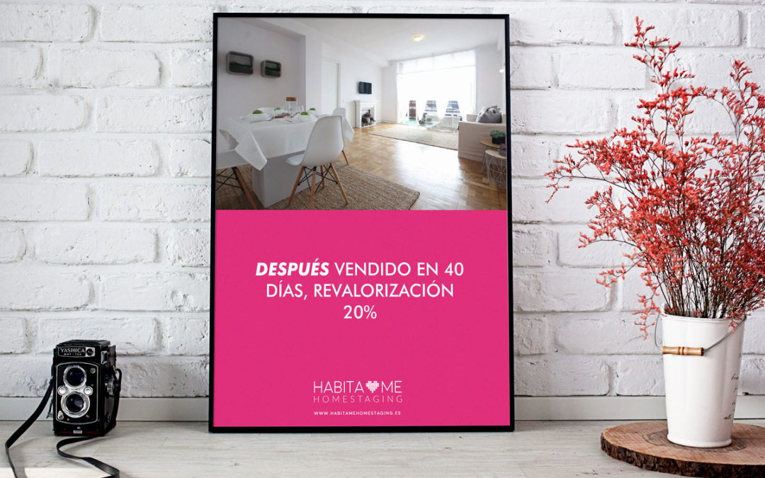 Cartel Habítame Homestaging 1